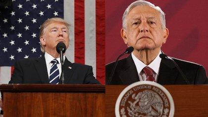 Los gobiernos de Donald Trump y Andrés Manuel López Obrador acordaron el cierre parcial de la frontera como medida para enfrentar la pandemia del coronavirus (Foto: Especial)