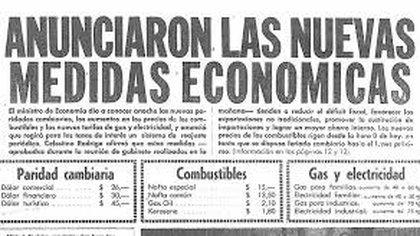 Las medidas económicas en la tapa de los diarios