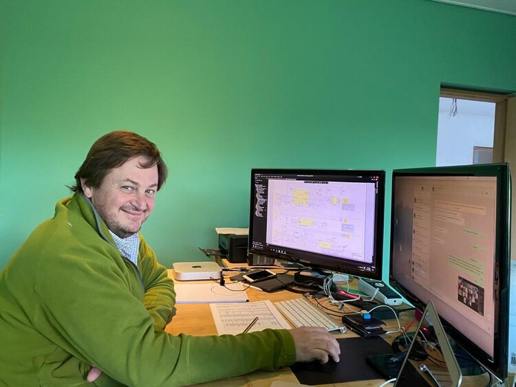 el doctor en Ingeniería Pablo Mandolesi