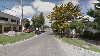 La esquina del barrio San Cayetano de Mar del Plata, donde ocurrió el robo