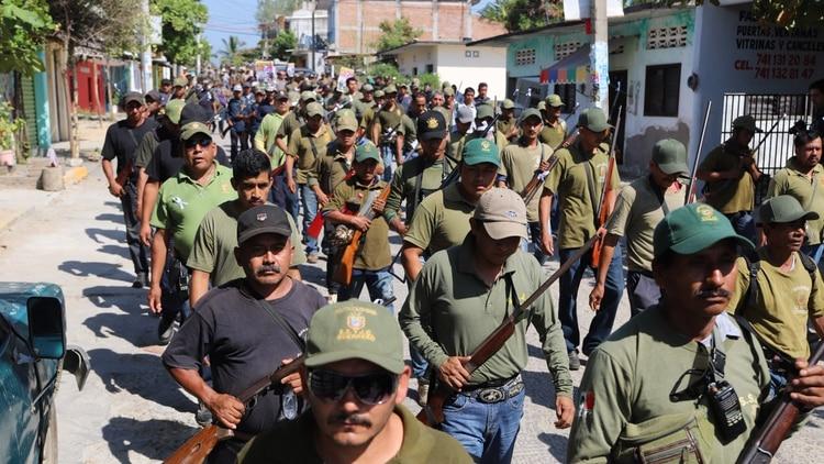 FUPCEG tiene más de 11,000 milicianos que operan en 39 municipios de Guerrero (Foto: Cuartoscuro)