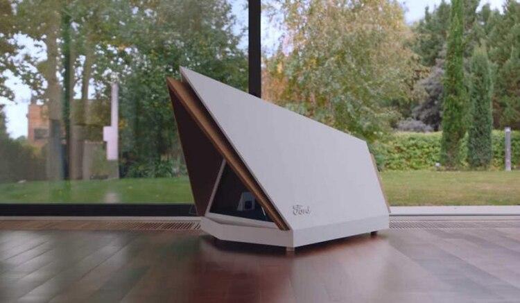 Se trata de una casa para perros con tecnología de cancelación de sonido.