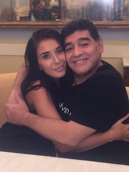 Nunzia Pennino y Diego Maradona