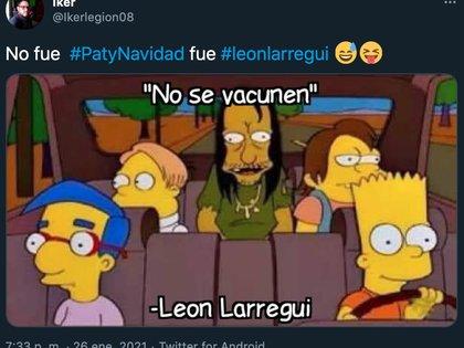 Otros de los satíricos comentarios aludían a que León Larregui realiza estas controversiales declaraciones por consecuencia de los efectos perniciosos de algunas drogas (Foto: Twitter)