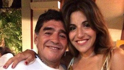 Otros tiempos: cuando todo era sonrisas entre Gianinna y Diego