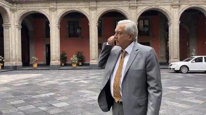 """Cibernautas manifestaron su indignación ante la """"opulencia"""" de AMLO (Foto: López Obrador / captura de pantalla)"""