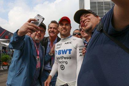El director de marketing del gran premio de México espera que Checo continue en el Gran Premio de México  (Foto: Cuartoscuro)