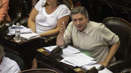 La bancada que encabeza Máximo Kirchner pidió una sesión especial para tratar el recorte de fondos a la Ciudad de Buenos Aires (Adrián Escandar)