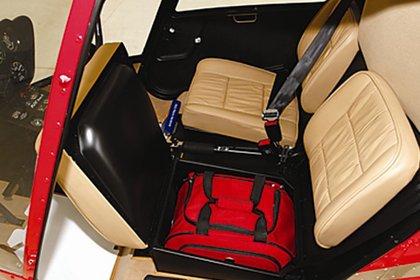Así lucen los interiores del Helicóptero R22 Beta II (Foto únicamente ilustrativa, tomada de hmu.com.mx)