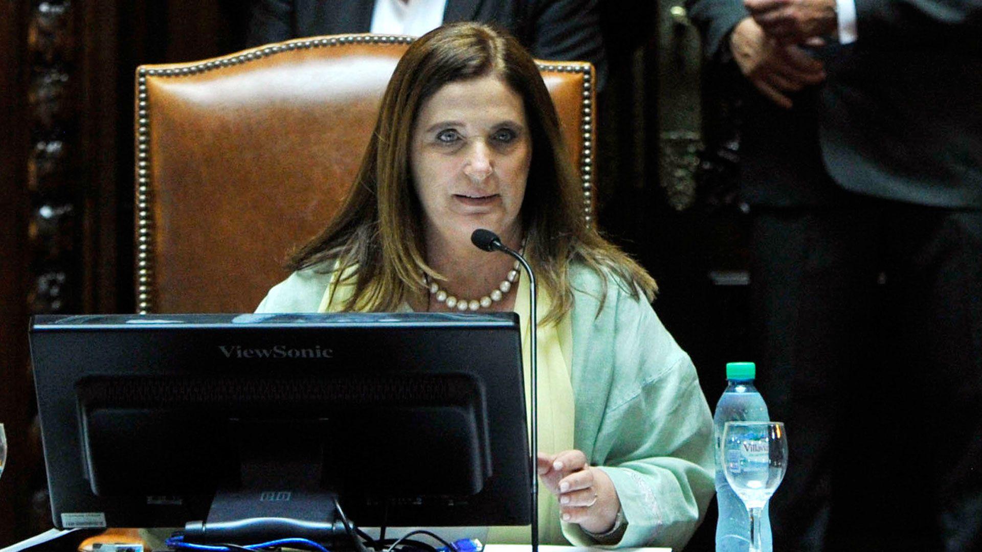 La diputada del PRO Carmen Polledo