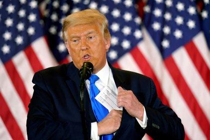 US President Donald J. Trump.  EFE / EPA / CHRIS KLEPONIS / Archive