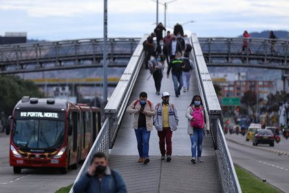 According to Transmilenio, the damages to the system during the days of demonstrations already amount to $ 11,000 million pesos. Photo: Colprensa - Camila Díaz.