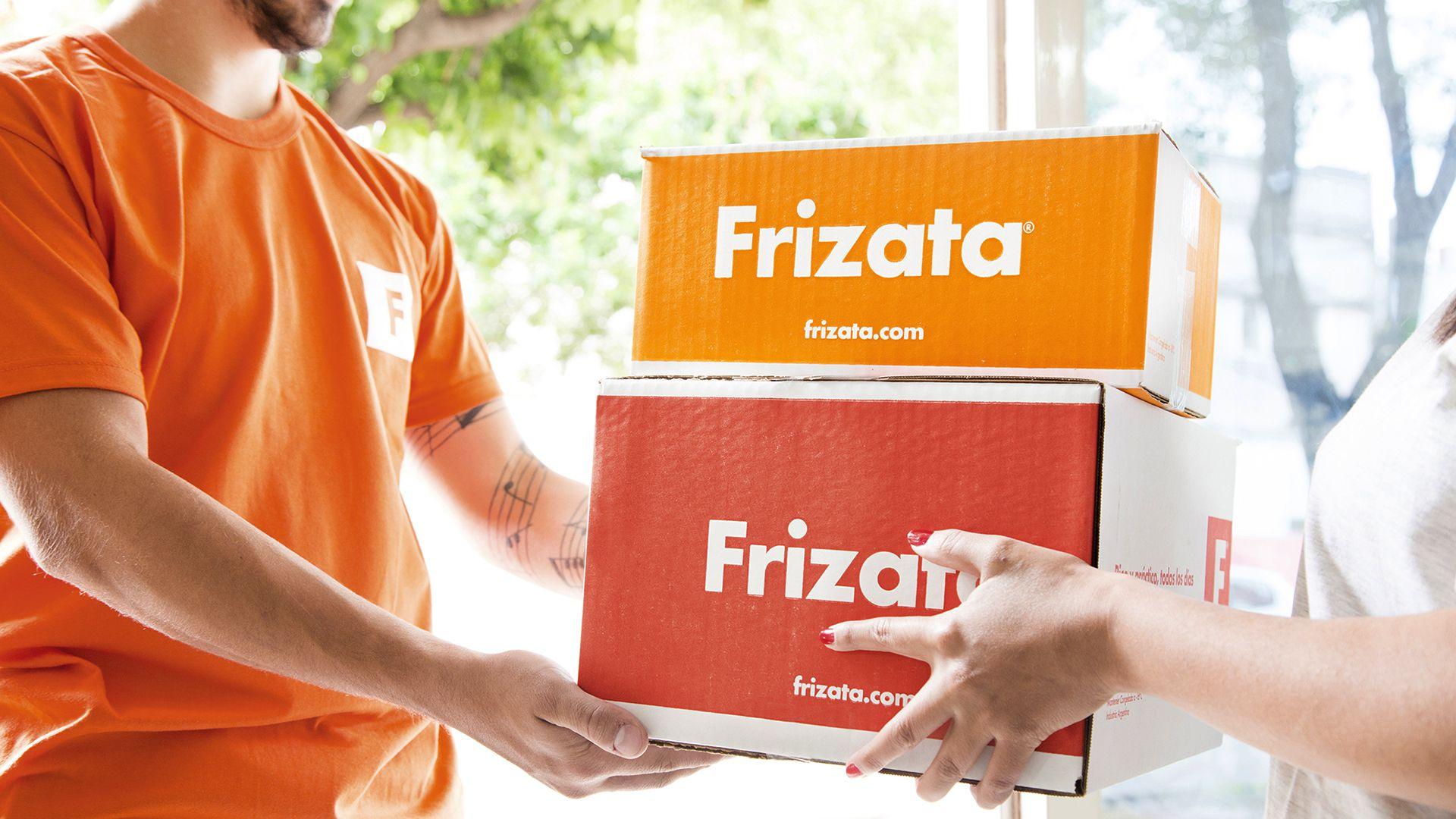 Frizata tiene un sistema de delivery y entrega también por medio de puntos de pickup en Capital Federal y el Gran Buenos Aires