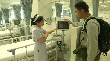 El hospital de Chiang Rai en el que fueron atendidos los chicos