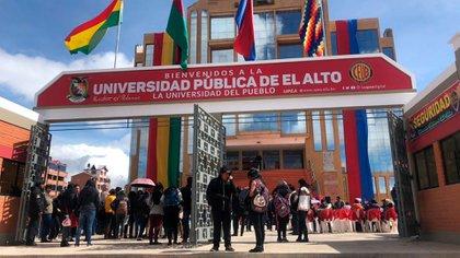 Universidad Publica de El Alto (UPEA) en Bolivia