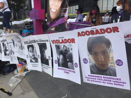 Manifestación en la CDMX por el feminicidio de Mari Chuy (Foto: Alicia Mireles / Infobae)