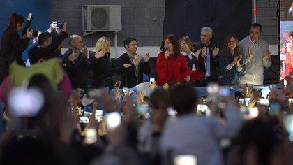 Cristina Kirchner presentó Sinceramente en la Facultad de Periodismo de La Plata (Gustavo Gavotti)