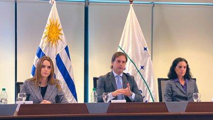 Luis Lacalle Pou, al asumir la presidencia pro témpore del ...