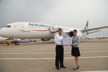 El avión hizo un viaje hacia China para adquirir insumos para combatir el COVID-19, cubriendo más 14 mil kilómetros de recorrido.  (Foto: Especial)