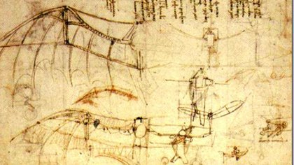 Dibujos de su máquina voladora