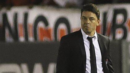 El Muñeco se mostró orgulloso por la propuesta de su equipo a pesar del resultado (Foto: NA)