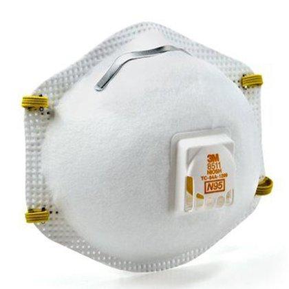 """La Mascarilla N95 filtra hasta el 95% de partículas de alta concentración y después de su uso debe ser desechado en una bolsa con la leyenda  """"riesgo biológico"""" (Foto: 3m.com.mx)"""