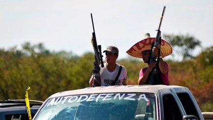 Autodefensas en Michoacán (Foto: Reuters)