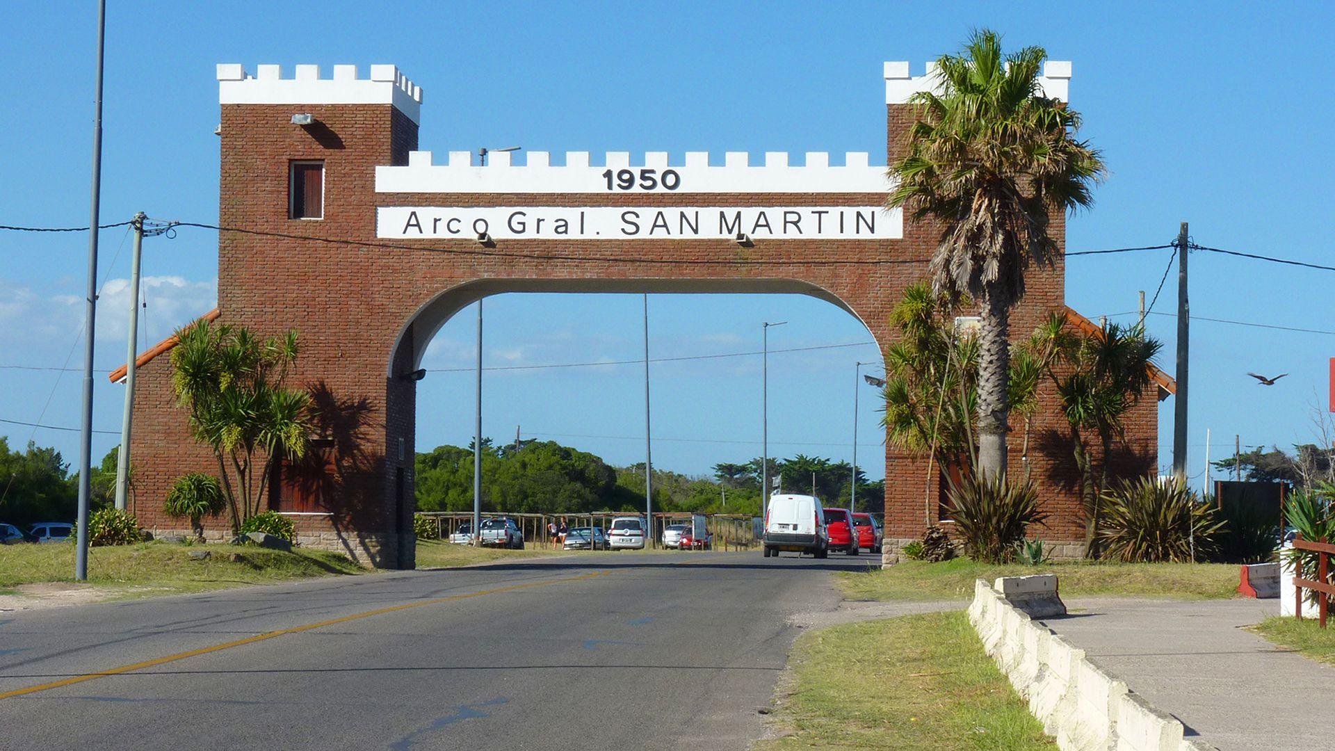 El ingreso a la ciudad de Miramar