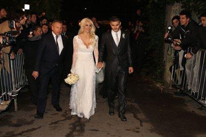 El casamiento de Wanda Nara y Mauro Icardi