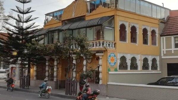 Sede de la Universidad en Bogotá, ubicada sobre la Avenida Caracas.