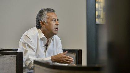 Alfredo Cornejo, presidente de la UCR (Foto: Gustavo Gavotti)