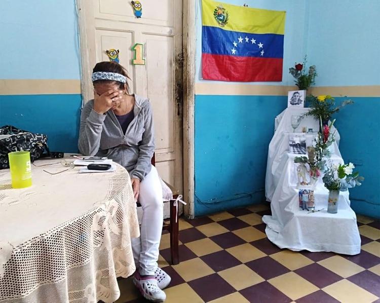 Familiar de Alixon Pisani. 1 de febrero de 2019 (Amnistía Internacional)