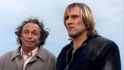 Pierre Richard junto a Gerard Depardieu