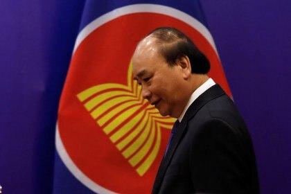 El Primer Ministro de Vietnam, Nguyen Xuan Phuc (REUTERS/Kham)