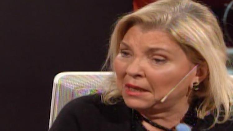 Lilita Carrió encabezó la denuncia de la Coalición Cívica contra el kirchnerismo por el tema judicial.