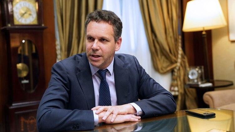 Guido Sandleris, presidente del Banco Central (Foto: Pablo E. Piovano/Bloomberg)