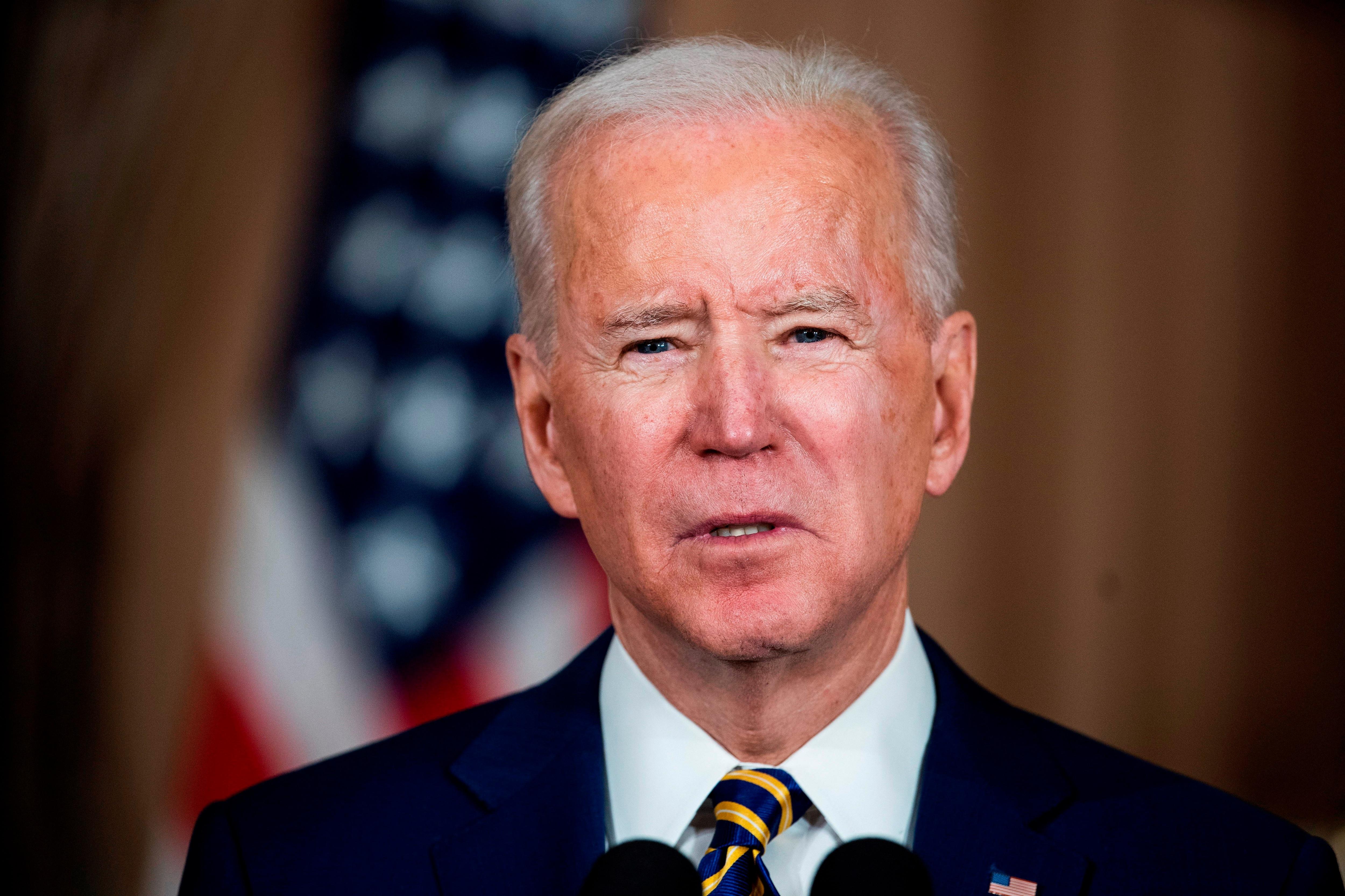 En la imagen, el presidente de EE.UU., Joe Biden. EFE/EPA/JIM LO SCALZO/Archivo