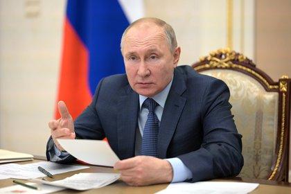 El presidente ruso Vladimir Putin. Sputnik/Alexei Druzhinin/Kremlin via REUTERS