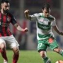 Ariel Rojas debutó en San Lorenzo (AFP)