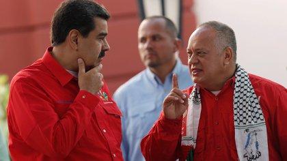 Según el informe de la inteligencia venezolana, Diosdado Cabello participó de la cumbre en Caracas (REUTERS/Manaure Quintero)