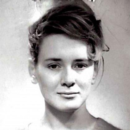 Annie Ernaux, en los años 60 (Foto:  L'Inventoire)