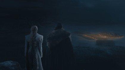 Las escenas del capítulo no se pudieron ver, ya que las televisiones no tienen la capacidad de luz (Foto: HBO)