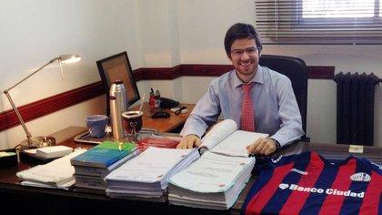 El actual fiscal Ignacio Mahiques, candidato a juez federal de Mercedes