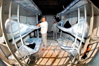 En el penal de Apodaca I  se encuntran los reos menos afortunados (Foto: EL  Norte)