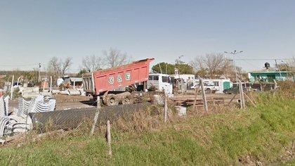 Hasta hace un tiempo, el terreno era utilizado por una empresa constructora (Google Street View).