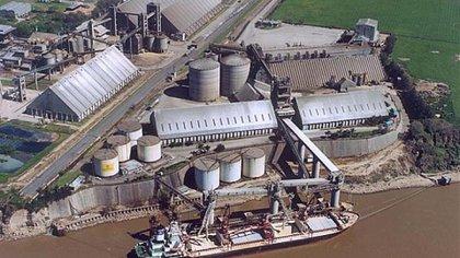 El puerto de Timbúes, propiedad de vicentín
