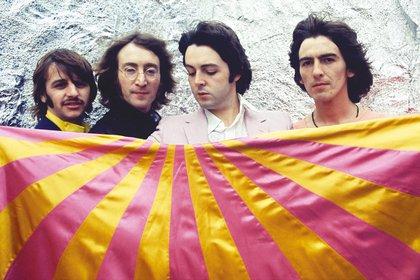 The Beatles en Londres (julio de 1968)