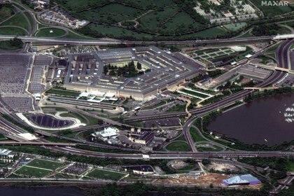 Los funcionarios del Pentágono fueron puestos en alerta (Maxar Technologies/Handout via REUTERS)