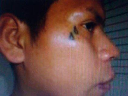 Doble gota: el tatuaje por el cual lo encontraron.
