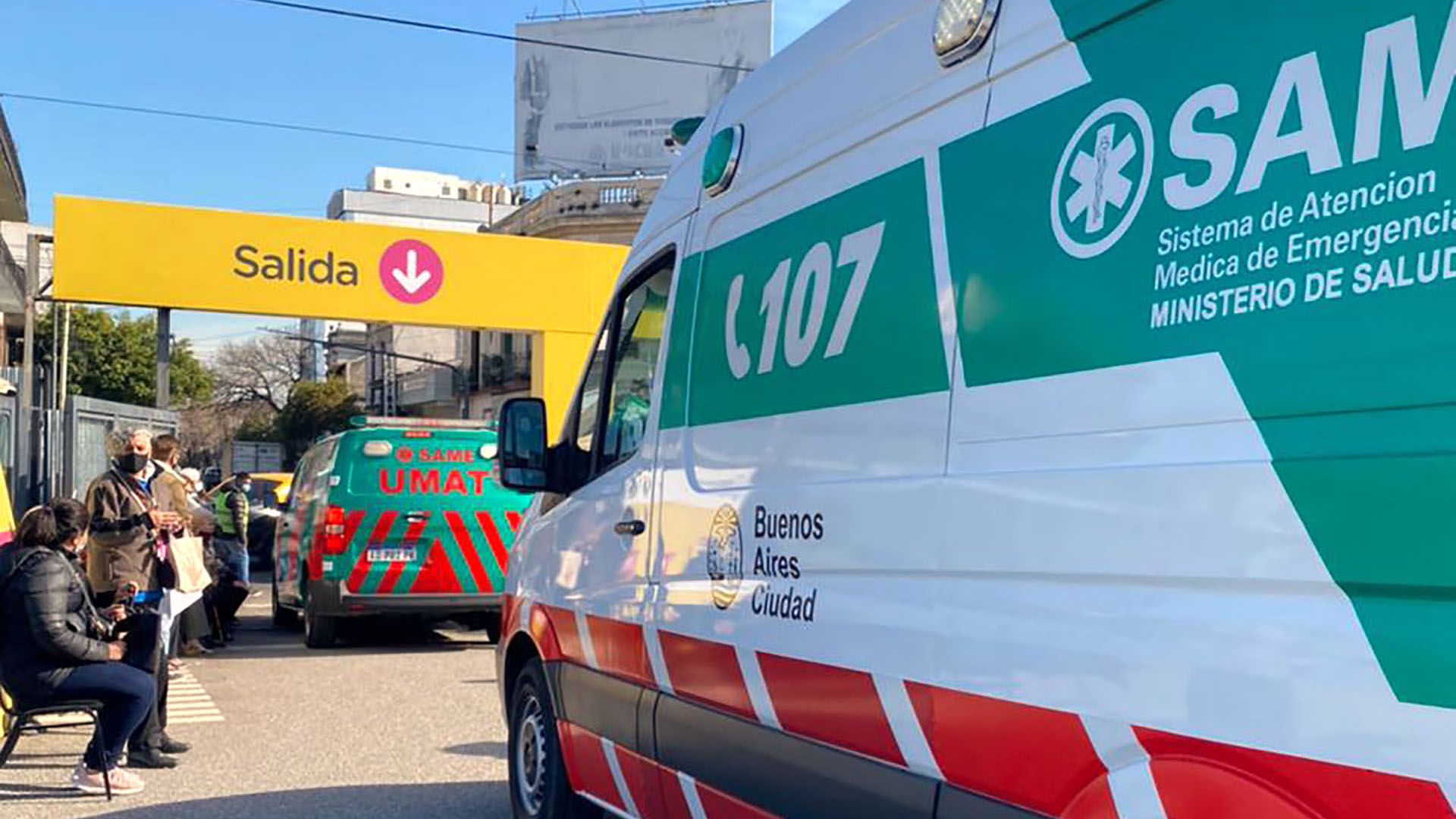 muerte en el vacunatorio de san lorenzo portada
